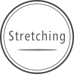 cours de stretching.